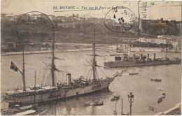 Monaco - Vue Sur Le Port Et Le Rocher - Harbor