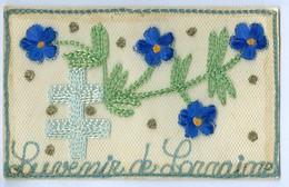 1900's, France, Sovenir De Lorraine, Silk Pc. Written But Never Posted. - Militari