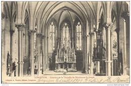 LONGUYON ..-- Intérieur Chapelle . Vers SAINT - MARD . Voir Verso . - Mont Saint Martin