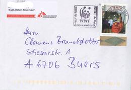 Briefzentrum Ma WWF Jan Vermeer Van Delft Mädchen Weinglas - [7] République Fédérale