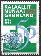 Groënland 1995 N°246 Oblitéré ONU - Groenlandia