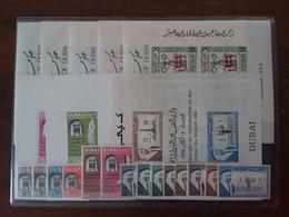 EMIRATI ARABI - DUBAI 1963/1964 - Lotto Francobolli In Serie E Foglietti Nuovi ** + Spese Postali - Dubai