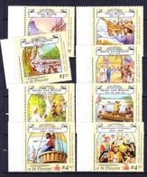 SAINT VINCENT ET GRENADINES 1988 YT N° 546 à 553 ** - St.Vincent & Grenadines