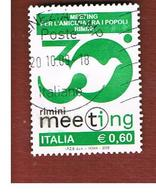 ITALIA REPUBBLICA  -   2009 MEETING DI RIMINI -   USATO  ° - 6. 1946-.. Repubblica