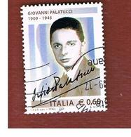 ITALIA REPUBBLICA  -   2009  GIOVANNI PALATUCCI     -   USATO  ° - 6. 1946-.. Repubblica