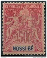 Nossi Bé (1894) N 37 * (charniere) - Nossi-Bé (1889-1901)