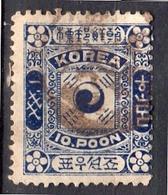 10 Poon VF Used (145) - Korea (...-1945)