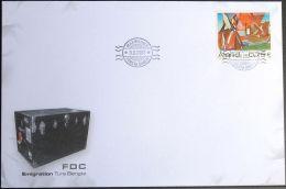 ALAND 2007 Mi-Nr. 286 FDC - Aland