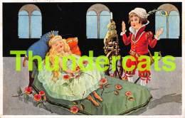 CPA  ILLUSTRATEUR LA BELLE DORMANTE SLEEPING BEAUTY DORNROSCHEN II PUPPENMARCHEN DOLL POUPEE - Fairy Tales, Popular Stories & Legends