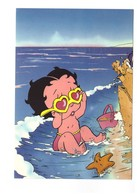 BD Bande Dessinée Dessins Animés Betty Boop Beach Baby CPM - Bandes Dessinées
