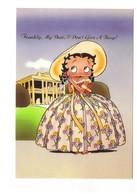 BD Bande Dessinée Dessins Animés Betty Boop I Don't Give A Boop Frankly My Dear Autant En Emporte Vent CPM - Bandes Dessinées