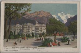 Interlaken - Schweizerhof Hotel Suisse A Cote Du Kursaal, Animee - BE Berne