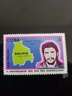 CUBA CHE GUEVARA 1972 Bolivia - Indonésie