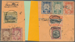 05002 Brunei: 1895 First Issue ½c. Brown, 1c. Brown-lake, 3c. Blue, 5c. Blue-green And 10c. Orange-red Use - Brunei (1984-...)