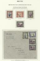 05076 Brunei: 1946, NORTH BORNEO USED IN BRUNEI: North Borneo Pictorial Definiitives 20c. River Scene (ver - Brunei (1984-...)