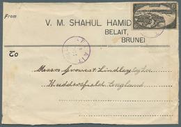 05094 Brunei - Stempel: BELAIT (type D4): 1929 (4.10.), 6c 'water Village' Single Use On Correct Franked C - Brunei (1984-...)
