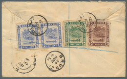 05095 Brunei - Stempel: BELAIT (type D5): 1931 (21.11.), Registered Cover From Belait To England With 2 X - Brunei (1984-...)
