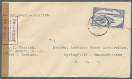 05101 Brunei - Stempel: BELAIT (type D5): 1940 (7.11.), 'water Village' 12c Single Use On Cover At Correct - Brunei (1984-...)