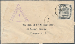 05103 Brunei - Stempel: 1941, 8 C Grey-black, Single Franking On Cover With Single Circle Dater BELAIT, 21 - Brunei (1984-...)