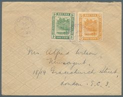 05118 Brunei - Stempel: TEMBURONG (type D3): 1926 (26.4.), Cover From Temburong To London At Correct 6c Im - Brunei (1984-...)