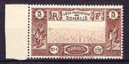 COTE FRANCAISE DES SOMALIS 1938 YT N° 167 ** - Côte Française Des Somalis (1894-1967)