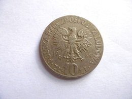POLOGNE-1968-1 PIECE- 1O ZLOTYCH-etat TTB-E124 - Pologne