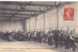 (43)   LAGNIEU - Usine Balloffet - Une Partie Des Ateliers De Perçage - Autres Communes