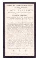 Devotie Doodsprentje Overlijden - Aloys Therssen - Woumen 1839 - Zomergem 1921 - Décès