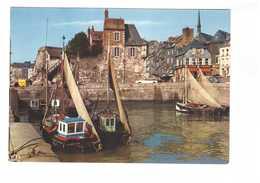 14 Honfleur Le Bassin Et La Lieutenance Bateau Peche Pecheur Port Citroen DS Break CPM - Honfleur