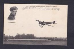 Vente Immediate Avion Aviation Aviateur  Monoplan Morane Saulnier Piloté Par Garros - ....-1914: Précurseurs