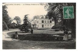 91 ESSONNE - LONGJUMEAU Le Château St-Eloi Et La Chapelle - Longjumeau