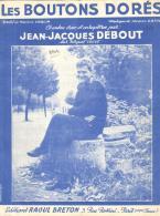 P 7944 - Jean Jacques Debout     Les Boutons Dorés - Music & Instruments