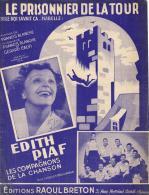 P 7948  -  Le Prisonnier De La Tour    Edith Piaf      Les Compagnons De La Chanson - Chant Soliste