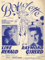 P 7949  -  Bouclette    Edith Piaf       Line Renaud     Raymond Girerd - Music & Instruments