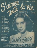 P 7950  -  S'aimer Toute La Vie   Edith Piaf         Gisèle Hervé - Chant Soliste