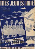 P 7951  -  Mes Jeunes Années         Les Compagnons De La Chanson - Vocals