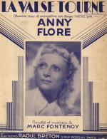 P 7952  -  La Valse Tourne        Anny Flore - Music & Instruments
