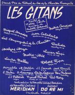 P 7953  -  Les Gitans     Maria Candido   Dalida  Jocelyne Jocya    Lucien Lupi  Rober T Ripa   Miguel Amador - Music & Instruments