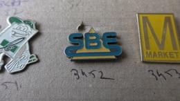 SBE - Pin's & Anstecknadeln