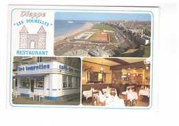 76 Dieppe Café Des Tourelles Restaurant Les Tourelles Larsonneur - Dieppe