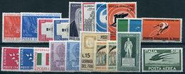 Italia Repubblica 1962 - 1961-70:  Nuovi