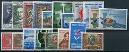Italia Repubblica 1963 - 1961-70:  Nuovi