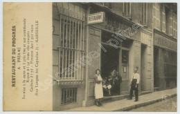 (Marseille) Restaurant Du Progrès A. Priami , 35 Rue Longue Des Capucins . - The Canebière, City Centre