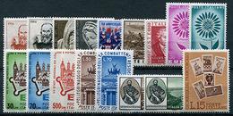 Italia Repubblica 1964 - 1961-70:  Nuovi