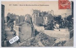 PARIS XIII- RUE DU MOULIN-DES-PRES ET RUE VANDREZANNE - Arrondissement: 13
