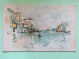 Italy Around 1920 Unused Postcard - Venezia - Venice - Canal Grande - Italy