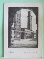 Italy Around 1920 Unused Postcard - Verona - Lauberti Tower - Unclassified