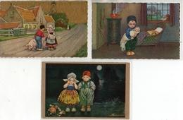 E Colombo - Enfants Hollandais X 3 - Colombo, E.