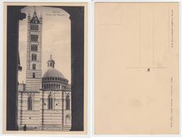 Siena - Torre Del Duomo E Panorama Dalla Torre Del Mangia - Siena