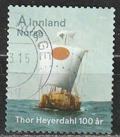 "Norvegia 2014 - ""Ra"" - Centenario Di Thor Heyerdahl - Navi - Velieri - Norvegia"